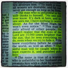 will come to the light! #Sirach 23:18-19;21 #truth ... Give #respect ...