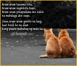 Tagalog Quotes Love Quotes ~ Sweet Tagalog Love Quotes and Messages ...