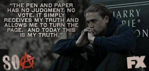 Sons of anarchy. Jax teller. Quote