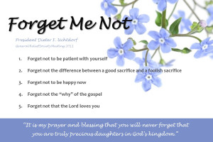 Forget Me Not Quotes And Sayings