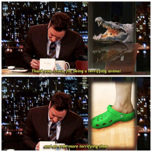 jimmy fallon writing thank you notes. ️