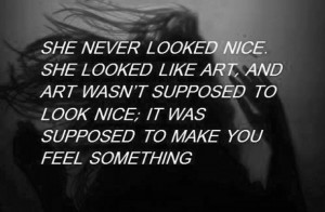 art, beautiful, deep, girl, grunge, hipster, poetry, quote, quotes ...