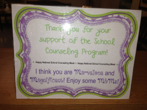 National School Counseling Week is here!...and it snuck up on me :)