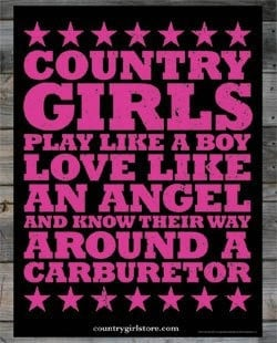 Quotes and Sayings / Country Girl