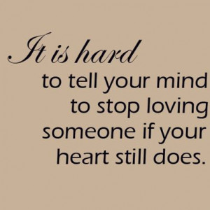 someone else even if you will always love the other person it doesn t ...