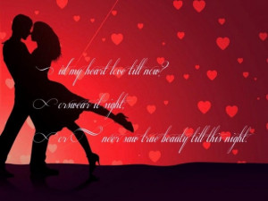 Inspirational quotes valentines day quote with picture of dancing ...