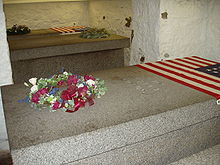 tombs of presidents john adams left and john quincy adams right and ...