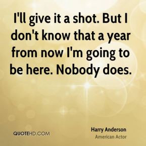 Harry Anderson Quotes