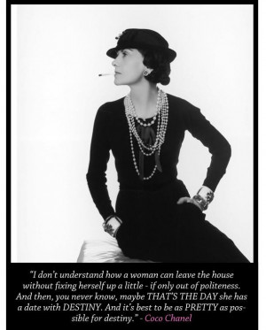 ... famous for her timeless designs, trademark suits, and little black
