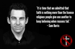 Sam Harris on faith