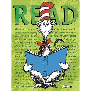 Dr. Seuss™ Cat in the Hat READ Poster