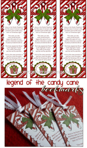 FREEBIE} Candy Cane Legend