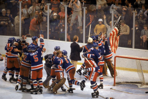 ... the. went on to win the 1980 Men's Hockey Olympic Games Gold Medal by