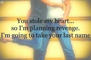 Stole my heart ...