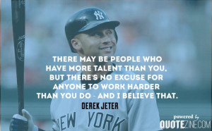 Derek Jeter Baseball Quotes Inspirational