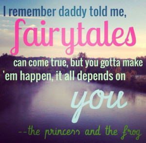 Princess Quotes Princess and the frog quotes