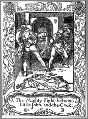 Howard Pyle, illustration from The Merry Adventures of Robin Hood ...