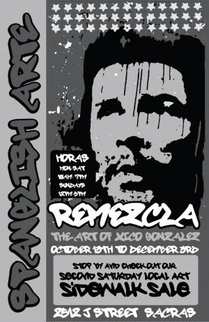"""Xico Gonzalez """"REMEZCLA"""" exhibition runs through December 3rd ..."""