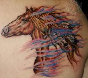 ... : http://www.tattoostime.com/images/153/american-horse-tattoo.jpg