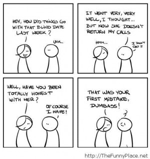 Blind date comics - Funny Pictures, Awesome Pictures, Funny Images and ...