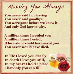 in memory of quotes | In Memory Of the Ones We Love | Facebook More