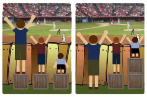 Equality vs. Equity : Two Images that Perfectly Explaining Privilege ...