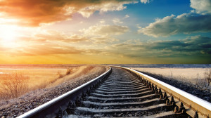instead Ken talks about how we should be like a set of train tracks ...