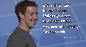 are not moving fast enough by mark zuckerberg founder facebook