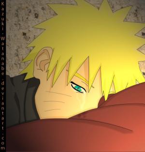 Naruto Sad Sad naruto by kazuki-watanabe