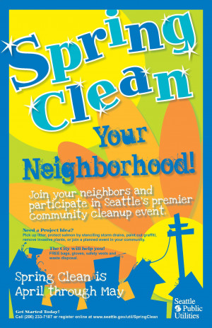 Spring Clean is a great project for getting to know your neighbors and ...