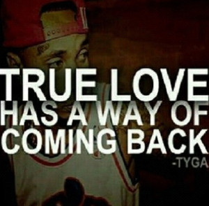 Tyga quotes about love