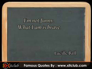 You Are Currently Browsing 15 Most Famous Quotes By Lucille Ball
