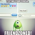 Funny Picture Texting Your Crush...