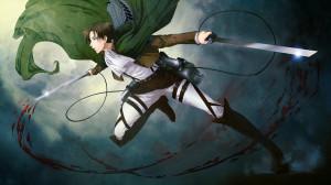 levi attack on titan shingeki no kyojin anime hd wallpaper 1600x900 6i ...