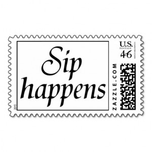 Funny quotes postage bachelorette party stamps