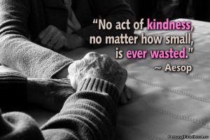 Aesop Kindness