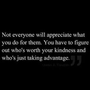 Get rid of people taking advantage