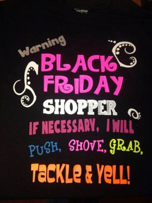 Black Friday Quotes about Shopping