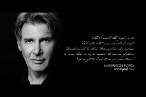 Free 1920 x 1280 Wallpaper. Quote by Harrison Ford. Design by Sally ...