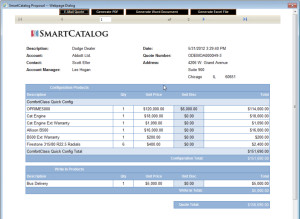 Saleslogix and SmartCatalog