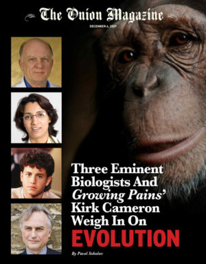 ... Biologists And 'Growing Pains'' Kirk Cameron Weigh In On Evolution