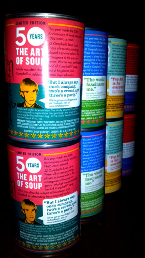 art of soup celebrating 50 years of andy warhol and campbell s soup