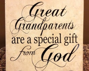Great Grandparents Are A Special Gi ft From God Decorative Tile ...