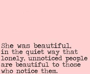 ... , lonely, lyrics, notice, people, pink, quiet, quote, text, unnoticed