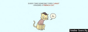 Lmao French Cat Fb Cover