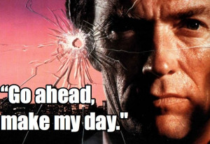 ... Dirty Harry, Cops Movie, Movie Quotes, Favorite Movie, Clint Eastwood