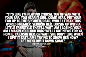 eminem, hqlines, lyrics, music, quotes, sayings, slim shady