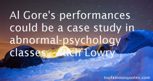 Abnormal Psychology Quotes