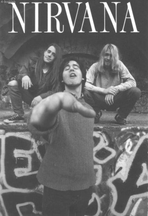 kurt cobain nirvana 1990 Krist Novoselic chad 4boddah