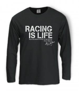 ... is-Life-Long-Sleeve-T-Shirt-Steve-McQueen-Le-Mans-Quote-KIMI-RAIKKONEN